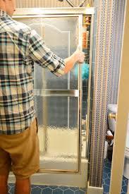 Replacing Shower Door Glass How To Remove An Sliding Shower Door House
