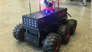 Seeking Robot High School Students Built The Bomb Seeking Robot Used At The