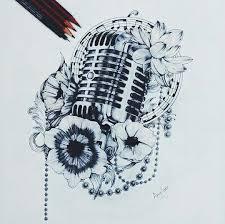 25 unique microphone tattoo ideas on pinterest mic tattoo