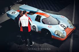 gulf porsche 917 stanceworks a look at the porsche 917k 004 017