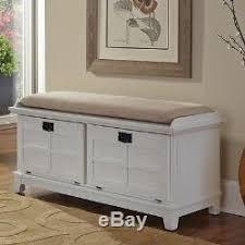 Solid Wood Entryway Storage Bench Bench Storage Solid Wood Oak Cushions Seat Shoe Organizer Hallway New
