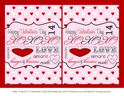 Invitation Note Cards Free Printable Valentine Cards U0026 Love Notes Living Locurto