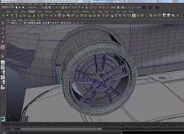 car modeling in maya videotutorial lugher 3d