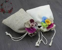 burlap wedding favor bags 30pcs rustic burlap wedding favor bags w jute flowers decor for