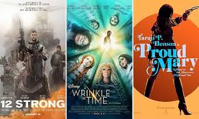 will these hollywood movies release in india bookmyshow