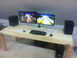 Computer Desk With Doors Door Desk A Startup S Best Friend Every Axis