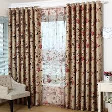 Retro Floral Curtains Vintage Floral Curtains Curtains Ideas