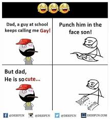 So Cute Meme Face - dopl3r com memes dad a guy at school punch him in the keeps