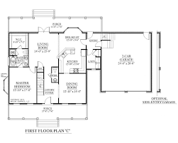 plan 1st flr story ranch style house sensational small plans 1