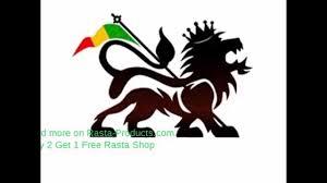 Lion Flag Lion Of Judah Rasta Flag White T Shirt Short Sleeves Black Green