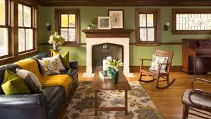 arts and crafts home interiors interior color palettes for arts crafts homes design for the