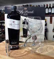 wine sler gift set fifty pounds gin gift set with 2 glasses 70cl fareham wine cellar