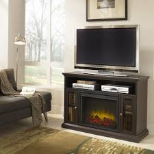 Electric Media Fireplace Pleasant Hearth Riley Electric Media Fireplace Espresso Finish