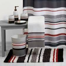 red black and white shower curtain shower curtain this urban