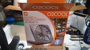 o2cool 10 inch battery or electric portable fan 02cool 10 battery powered portable fan youtube