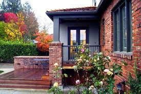 brick house trim color ideas