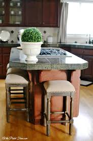 island stools for kitchen new kitchen island stools at the picket fence