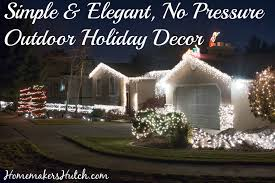 net christmas lights for small bushes stress free holidays yard decorations homemaker s hutch