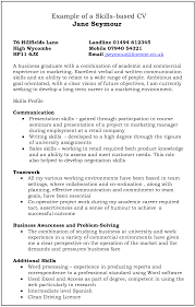 What Skills To Put On Resume For Retail Cv Design Choosing A Layout And Mistakes To Avoid Myfuturerole Com