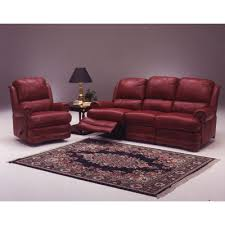 Omnia Savannah Leather Sofa by Saving On Mirage 4 Seat Sofa Leather Living Room Set Reviews