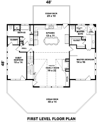hillside escape 8490 2 bedrooms and 2 5 baths the house designers