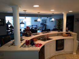 finished basement u2013 family room entertainment kitchen