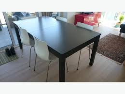 ikea bjursta extendable table brown black ikea erland chair white chrome plated victoria city victoria