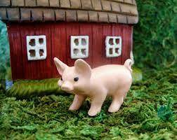 pig garden decor etsy