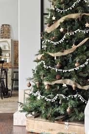 rustic christmas neutral rustic christmas tree glass jar