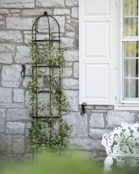 7 u0027 essex half round trellis gardener u0027s supply company