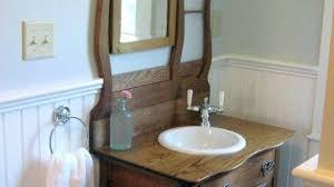Used Bathroom Vanity Cabinets Used Bathroom Vanities Antique Sideboard As Vanity Eclectic
