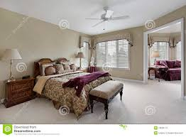 Master Bedroom Small Sitting Area Master Bedroom With Adjacent Sitting Room Royalty Free Stock Photo