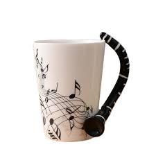 aliexpress com buy new stylish ceramic music score design cups