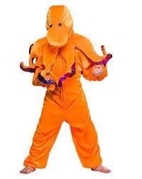 Octopus Halloween Costume Children U0027s Orange Octopus Costume