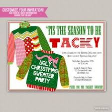 tacky christmas party invitations vertabox com