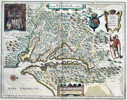 Virginia Mountains Map by Native Americans Of The Shenandoah Valley U2013 Access Genealogy