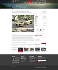 Listing Templates Automotive Car Dealership Business Html Template By Themesuite