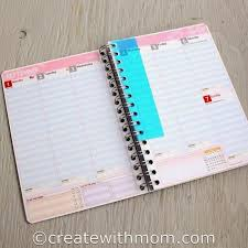 your own planner create with win and make your own personalized planner