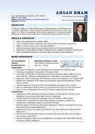 Resume Sample Management Skills by Resume Hr Professional