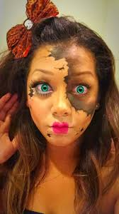 halloween makeup ideas 2017 104 best broken doll images on pinterest broken doll makeup