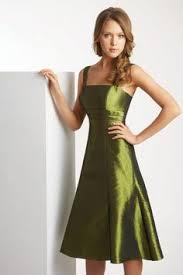 bridesmaid dresses knee length spaghetti straps a line chiffon