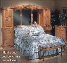 solid oak king size bed frame ebay bedding ideas