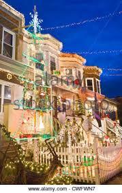 neighborhood christmas decorations 34th street hampden baltimore