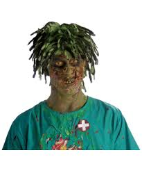 flesh eating zombie spirit halloween lace front wig secret best glue lace front wigs