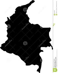 colombia map vector vector map of colombia stock vector illustration of banner 8032458