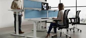 Standing To Sitting Desk Standing Vs Sitting Office Desks Which One Is Better For Your Health