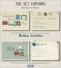 wedding postcard template u2013 21 free psd vector eps ai format