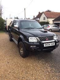 mitsubishi l200 warrior 2004 with extras in swaffham norfolk