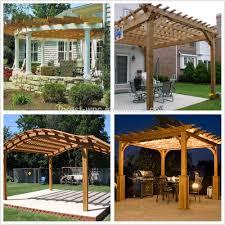 garden pergola canopy home outdoor decoration