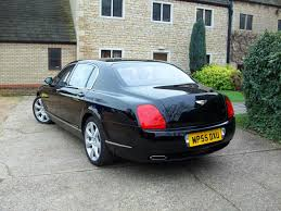 bentley flying spur rear 2006 bentley continental flying spur for sale